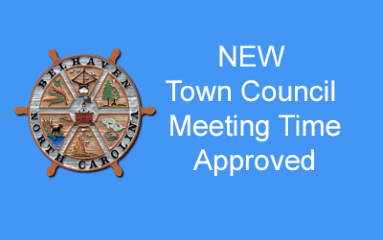 New Town Council Meeting Time Approved