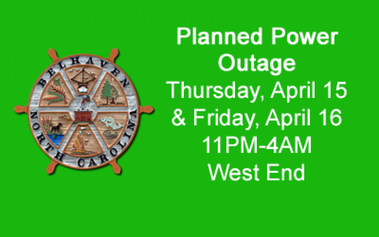 Planned Power Outage April 15